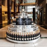 Liberace Champagne Tower-Moet and Chandon Toasts HBO's Behind the Candelabra fashiondailymag 3