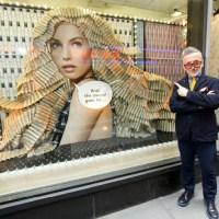 SIMON DOONAN installation celebrates the TONY AWARDS