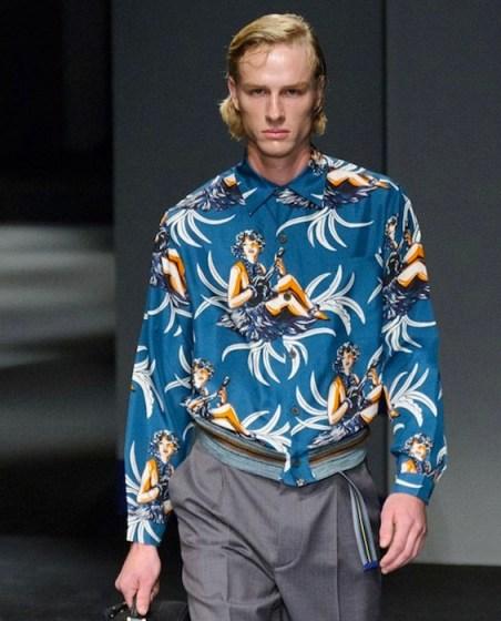 Prada menswear spring 2014