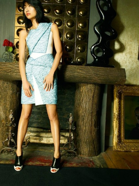 Roland Mouret Resort 2014 fashiondailymag selects 13