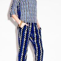 PATTERNED pants trend for fall