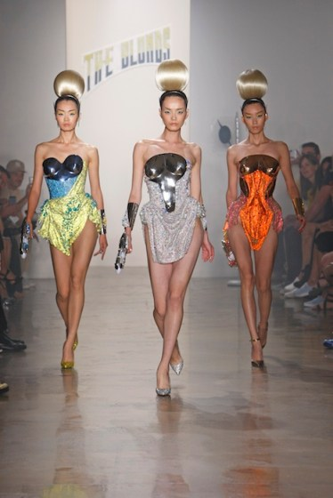 SS14 THE BLONDS RUNWAY NEW YORK FashionDailyMag