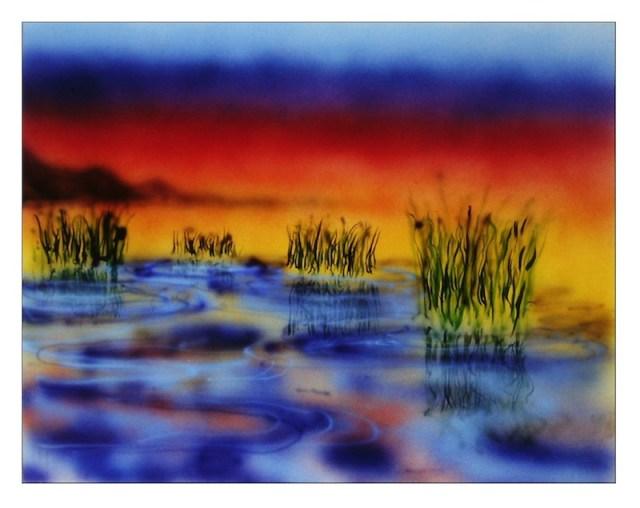 Garcia Artwear Wetlands Painting FashionDailyMag sel 1