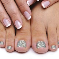 Swarovski sparkle toes