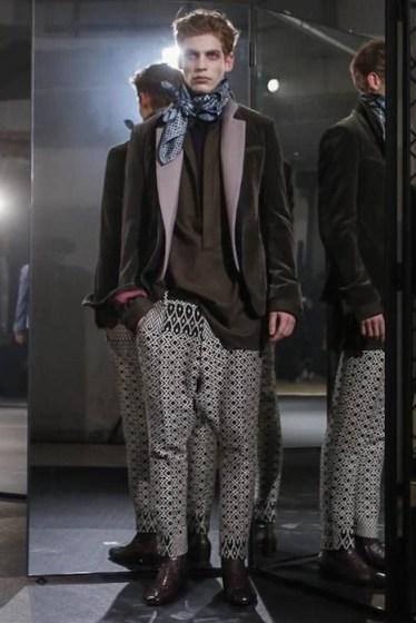 baptiste radufe HAIDER ACKERMANN Menswear Fall 2014 fashiondailymag sel 3