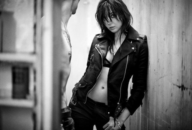 DIESEL Leather Shoot Daisy Lowe and Aaron Vernon fashiondailymag sel 3