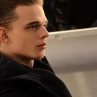 Backstage: Robert Geller Fall 2014 NYFW