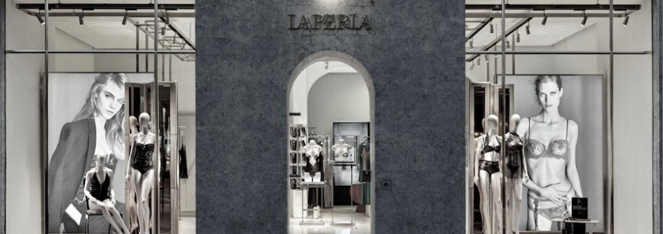 LA PERLA celebrates Milan flagship re-opening