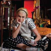 "IRELAND BALDWIN in ""Alice in Wonderland"" CR Fashion Book"