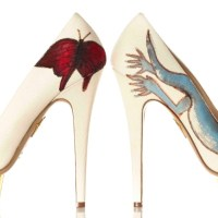 Stepping Up For Art with CHARLOTTE OLYMPIA