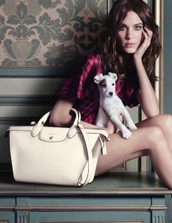 ALEXA CHUNG longchamp ad campain fall FashionDailyMag sel 2b