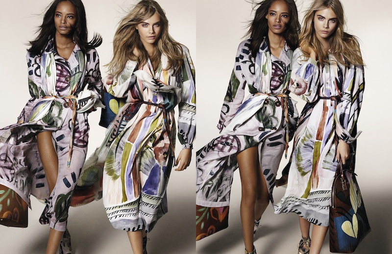 Burberry Autumn_Winter 2014 Campaign by Mario Testino