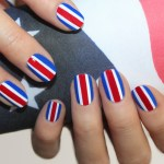 nail art: STARS and STRIPES for the summer