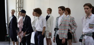Antonio Azzuolo Spring 2015 Fashion Daily Mag feature