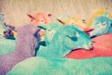 Rainbow Sheep III GRAY MALIN dream series FashionDailyMag