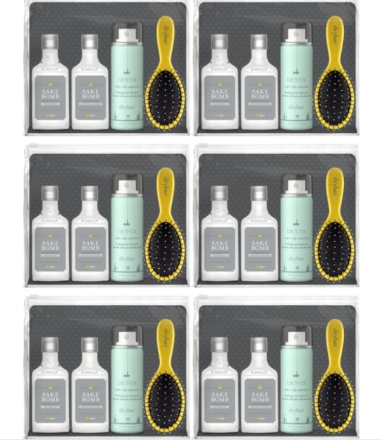 drybar up up away Hair travel kit FashionDailyMag