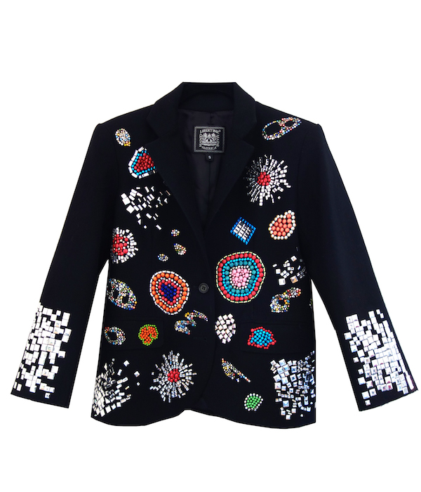 libertine blazer front fashion for action 2014 FashionDailyMag