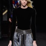 balmain fall 2015 fashiondailymag sel devon windsor