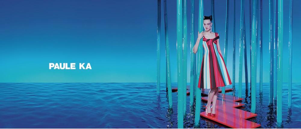 paule ka ss17 campaign by miles aldridge yumi lambert FashionDailyMag