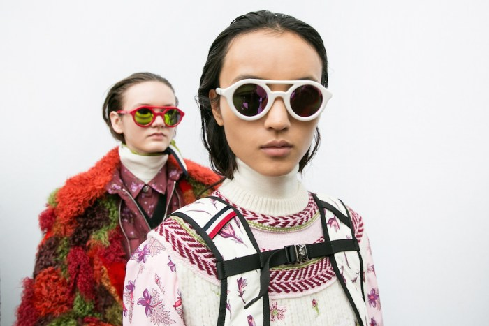 MONCLER GAMME ROUGE FW17 PFW FASHIONDAILYMAG 11