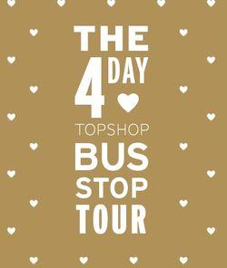 Topshop 4 day tour