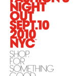 "CBS.com announces live ""Fashion Night Out"" webcast on September 7th, 2010"