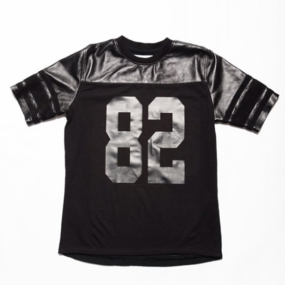 Clothsurgeon-MFY-Football-Jersey-Lambskin-Nappa-Chest-Panel-and-Sleeves-Cotton-Front-Mesh-Back-Goat-Suede-Sleeve-Stripes