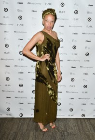 stacey mckenzie at TFI new labels gala 2013