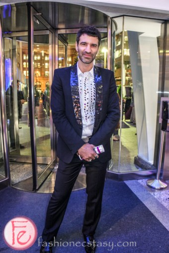 Jorn Weisbrodt at Luminato and Yves Saint Laurent Opening Night Party