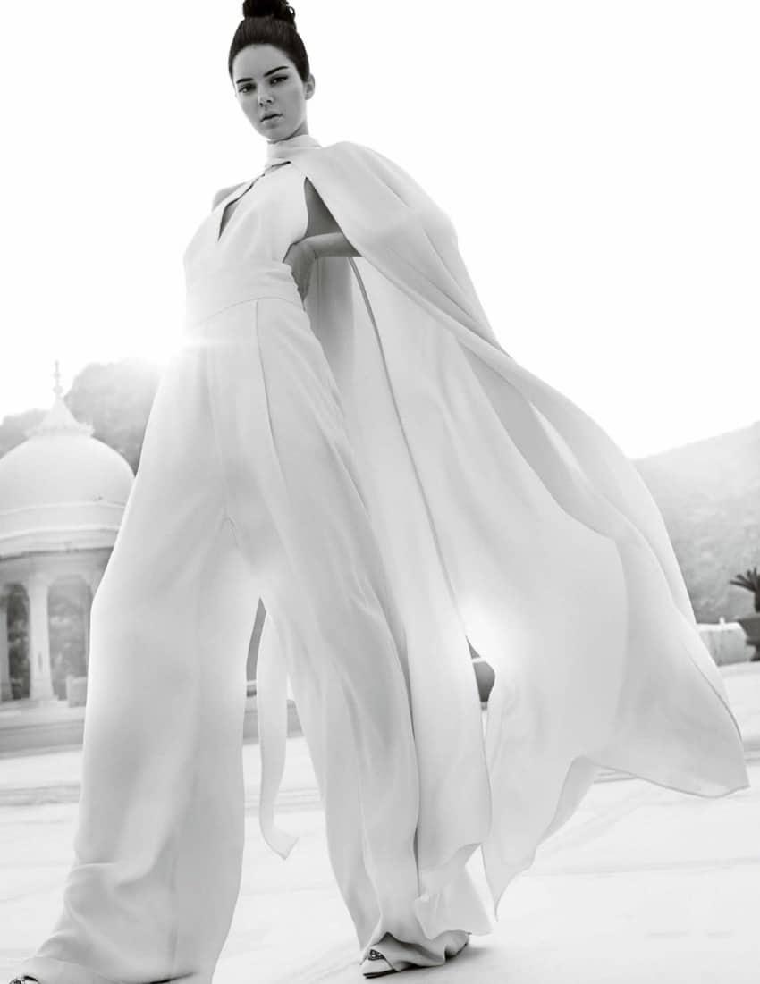 Desktop Wallpaper Pinterest Fall Vogue India May 2017 Kendall Jenner By Mario Testino