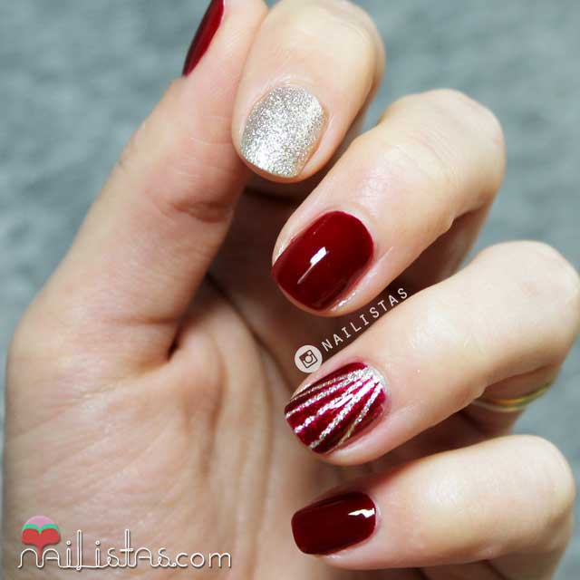 Uñas Decoradas En Rojo Latest New Year Nail Art Designs 2019 In Pakistan