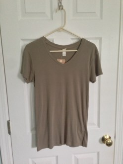 May Find #5: Alternative Apparel Baby Rib V-Neck Tee