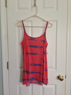 May Find #7: Free People Tie-Dye A-Line Tank