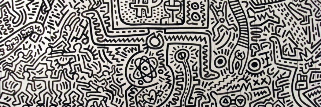 KEITH HARING INSPIRES US WHO INSPIRES YOU? - FASHION FINISHING SCHOOL