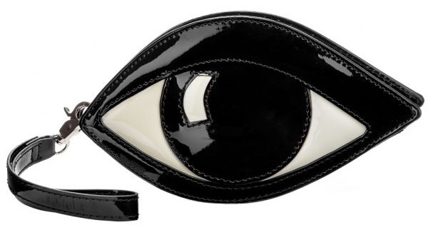 lulu guinness eye clutch