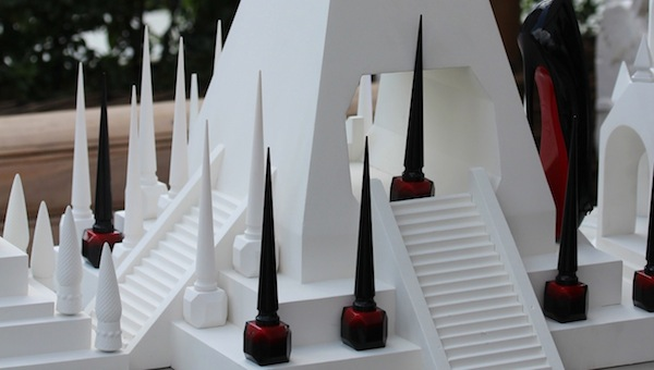 Christian Louboutin Beauté the rouge nail polish colour london launch