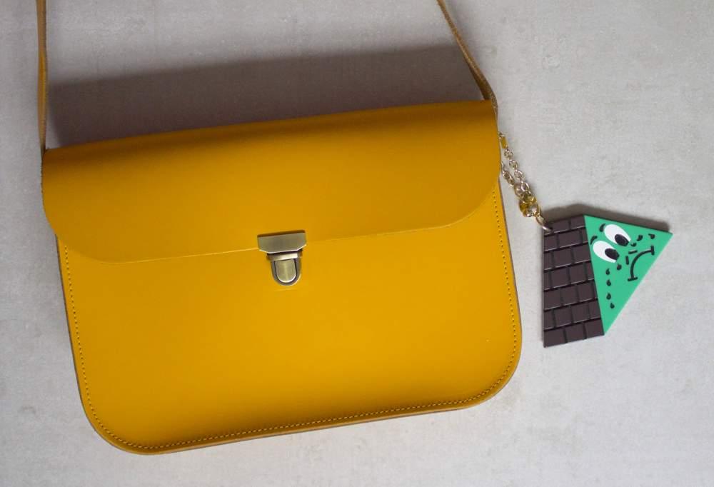 luella bag charm on ndamus handbag