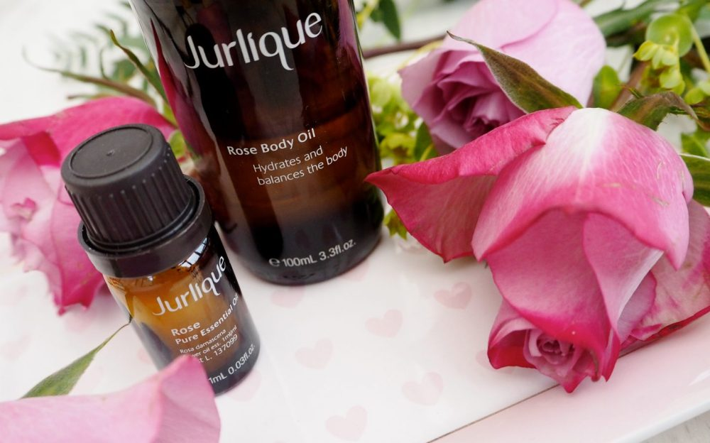 Jurlique Roses rose collection valentines body oil essential oil
