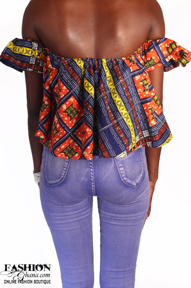 Bulk Jewelry To Sell African Print Off Shoulder Top Select Your Print Fabric