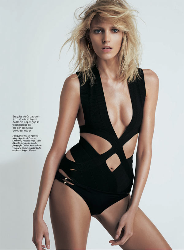 Sensual Girl Wallpaper Anja Rubik Is Sexy Cool For Eric Guillemain In S Moda S