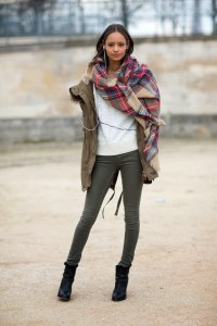 How To Style: Winter Oversized Scarves For Women 2018
