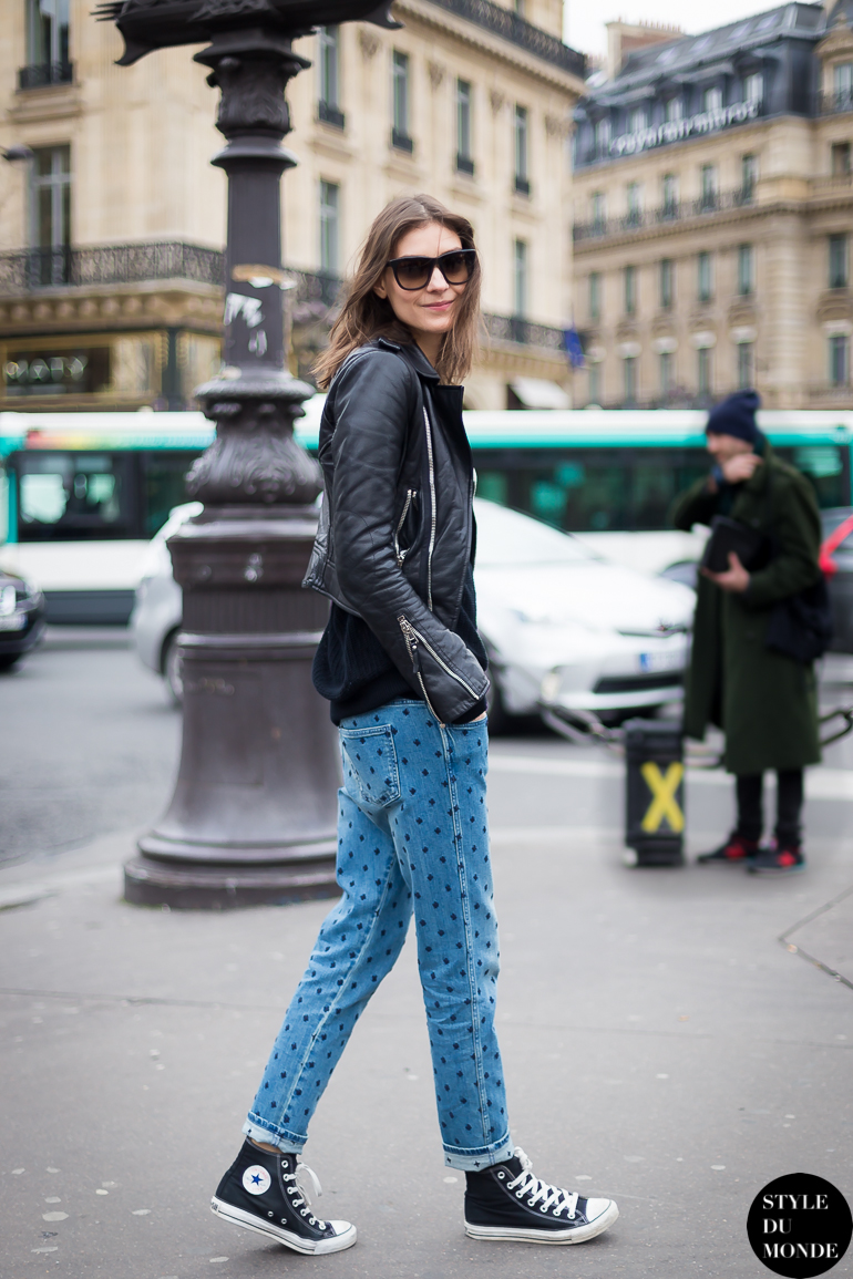 Street style leather jackets for women 18