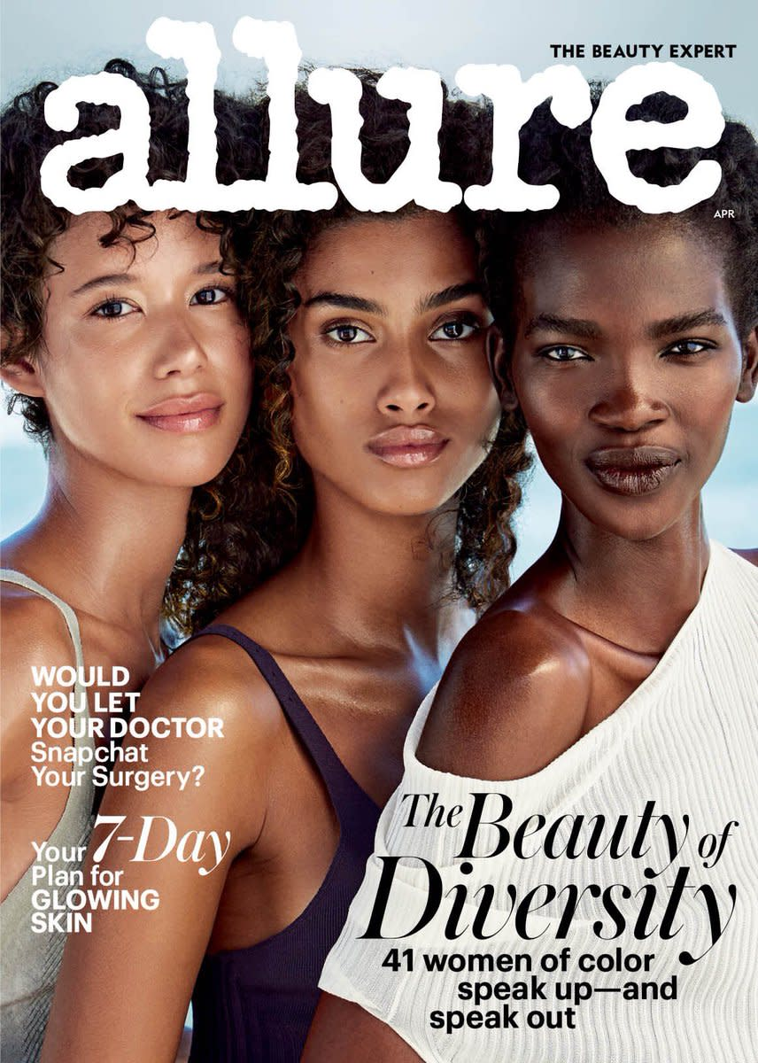 Allure casts dilone imaan hammam and aamito lagum for