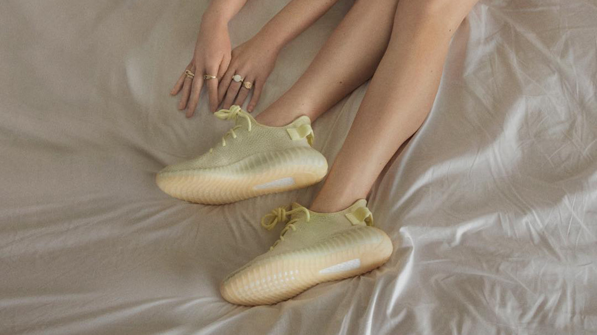 The New Yeezy Campaign Involves Wearing Sneakers On The