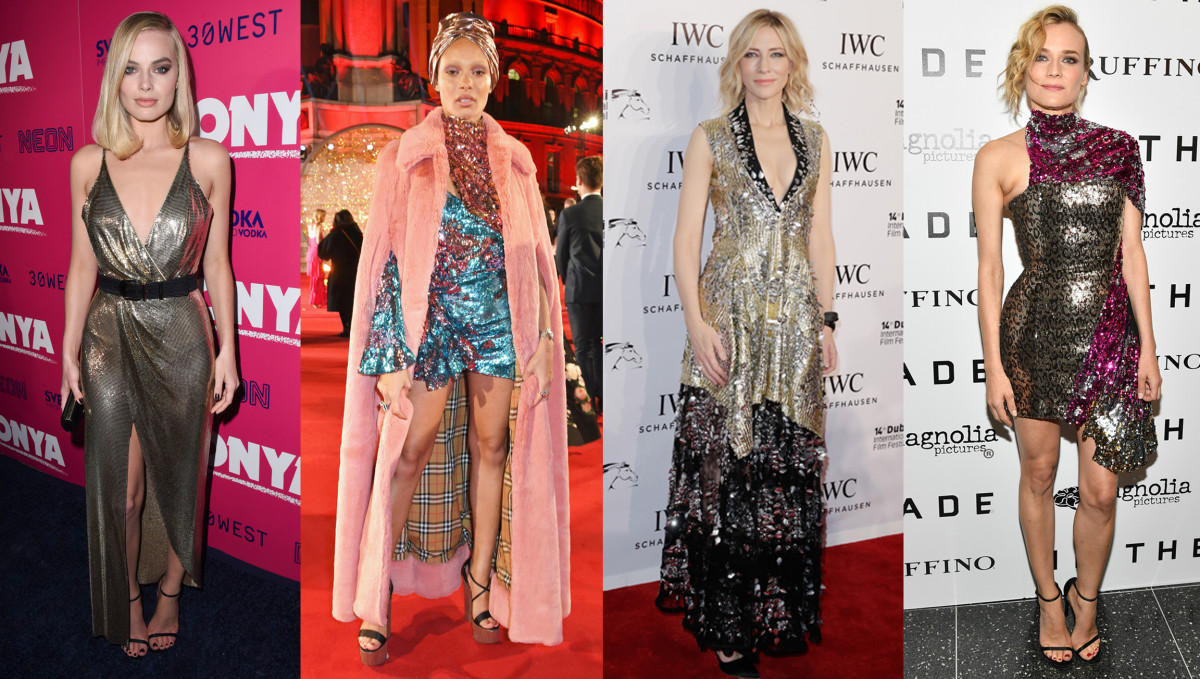 Model De Dressing This Week S Best Dressed Celebrities Were Oh So Very Sparkly