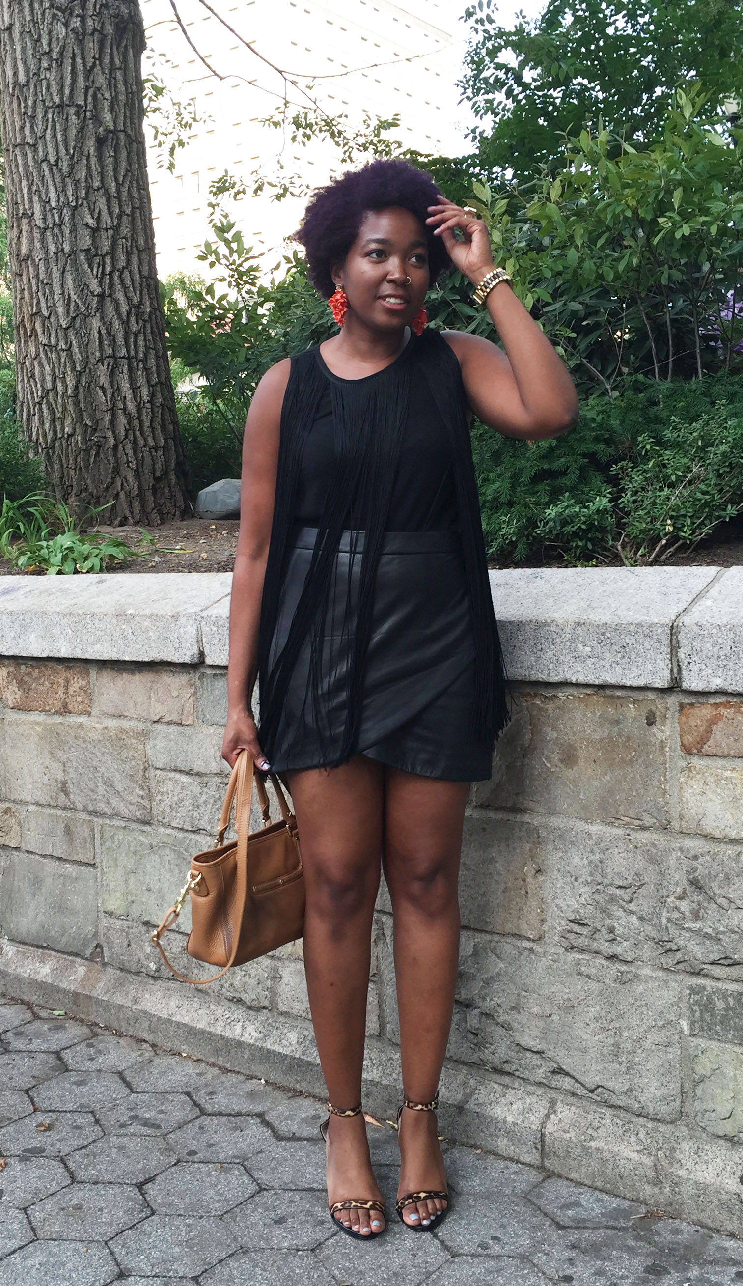 black girls killing it, outfit of the day.