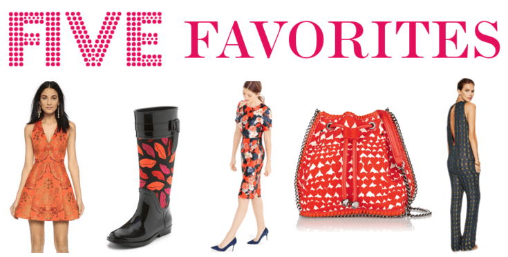 fun, colorful, feminine prints.