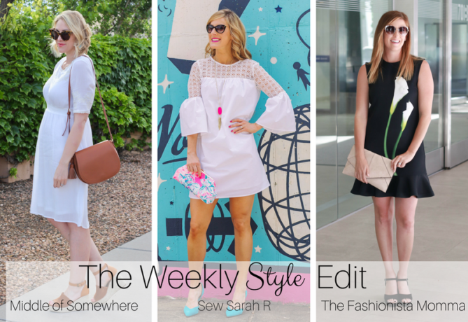 The Fashionista Momma and Middle of Somewhere host The Weekly Style Edit fashion linkup.