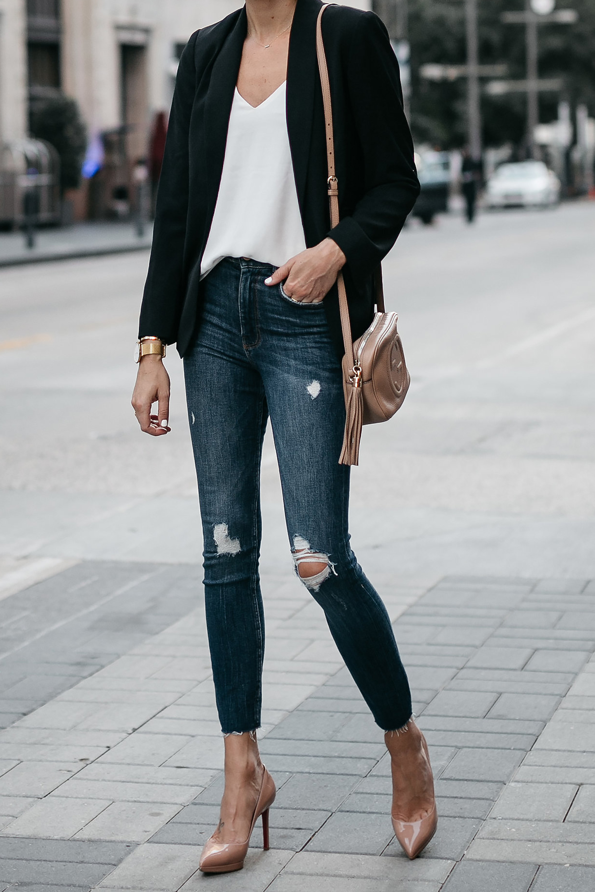 Outfits Mit Blazer A Chic Black Blazer Outfit Fashion Jackson