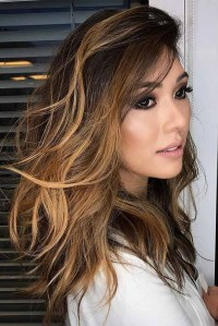 25 Beautiful Brown Balayage Hair With Caramel Colors ...
